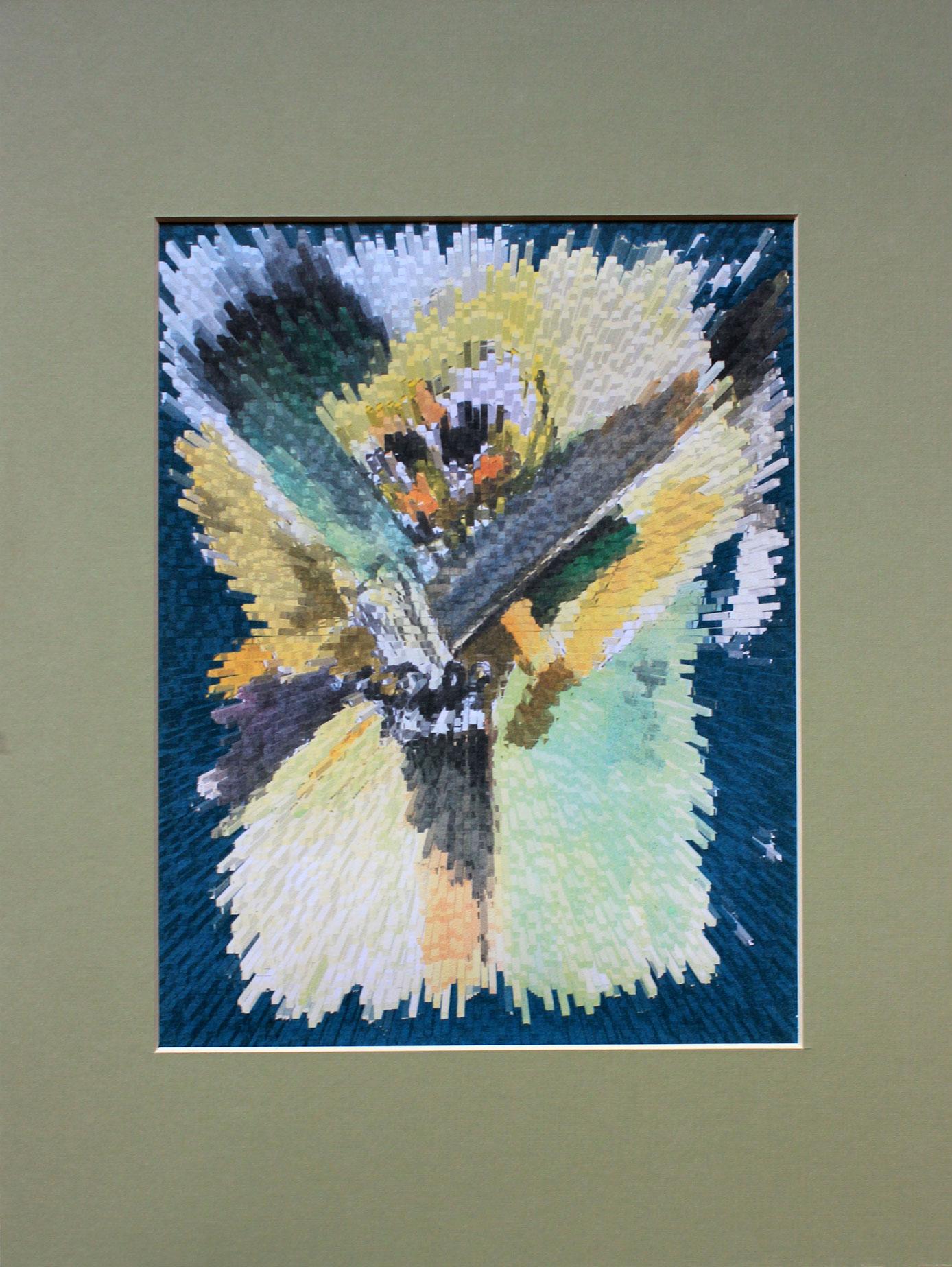 Florală VI (studiu) 420x297mm Grafică digitală