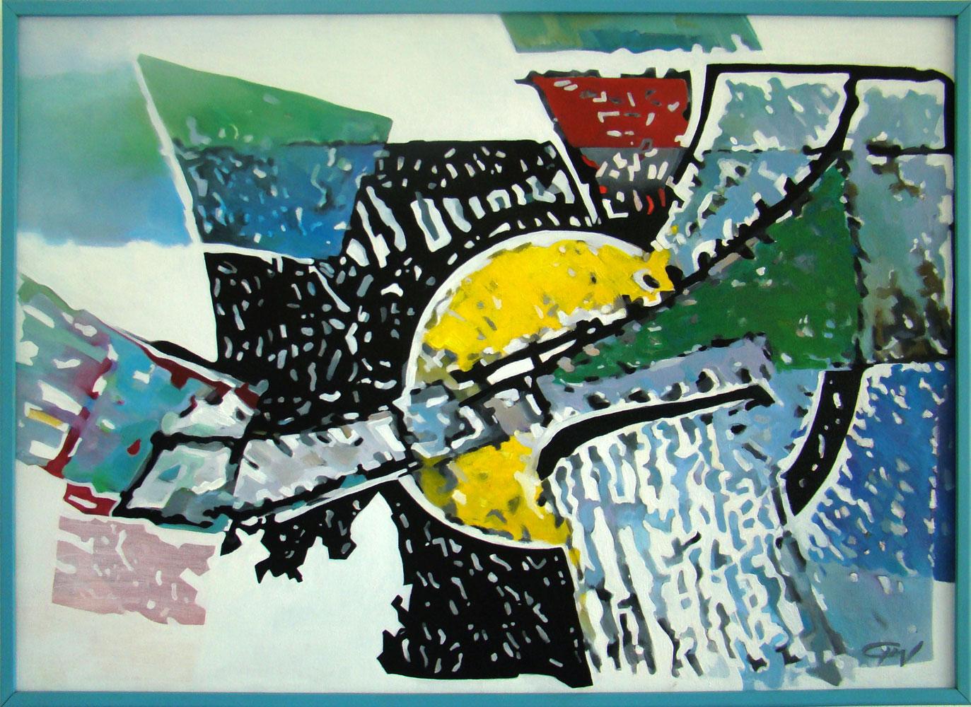 Flight - 50x70 cm Oil on canvas